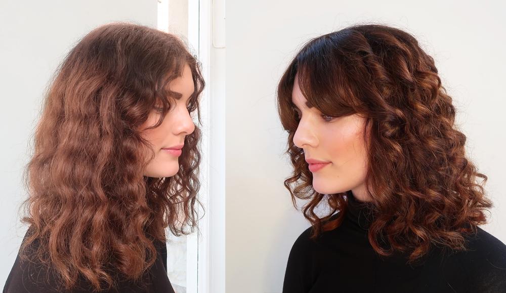klippa lockigt hår stockholm