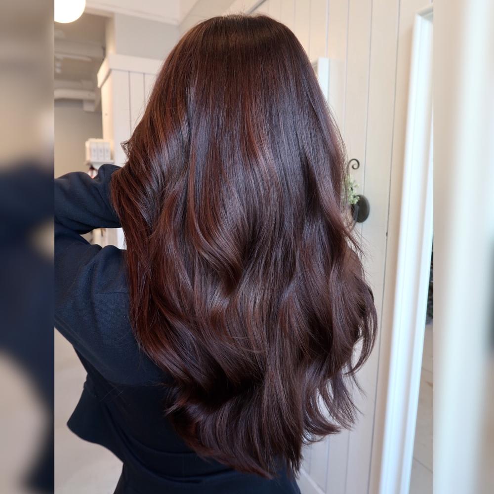 chokladbrun hårfärg tips